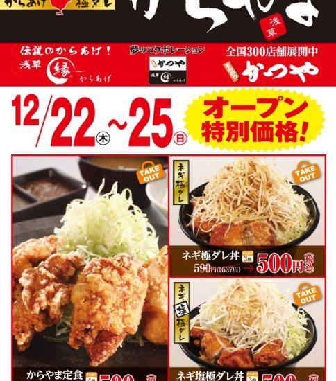 からやま江別弥生町店 12/22オープン予定!